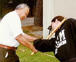 Sam Tendencia, master of arnis and hilot
