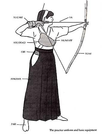weiß hakama in budo in japan etikette